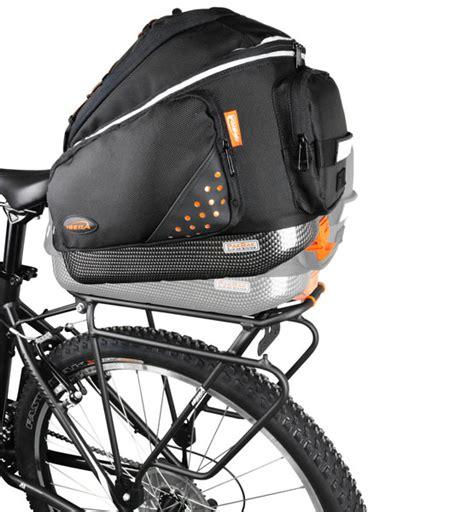 ibera pakrak commuter bag and carrier rack set combo