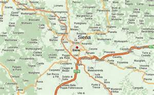Siena Italy Map by Siena Location Guide