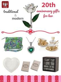 best 20th anniversary gift ideas for her vivid s