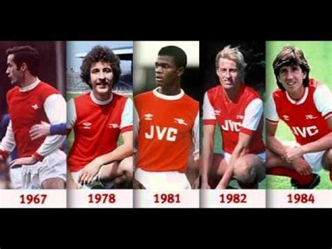 arsenal home record arsenal history home kit youtube