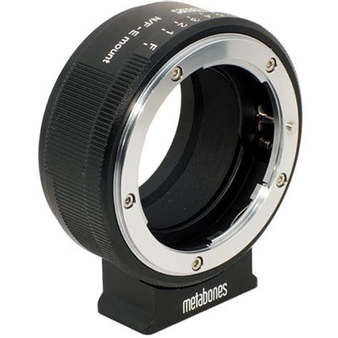 Lens Mount Adapter For Nikon G Lens To Sony E Mount metabones nikon g lens to sony nex lens mb nfg e bm1 b h