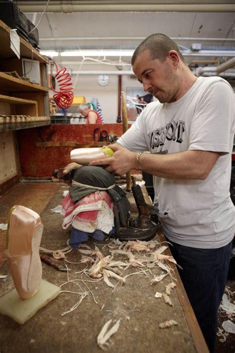 sneaker maker the pointe shoe makers of hackney spitalfields