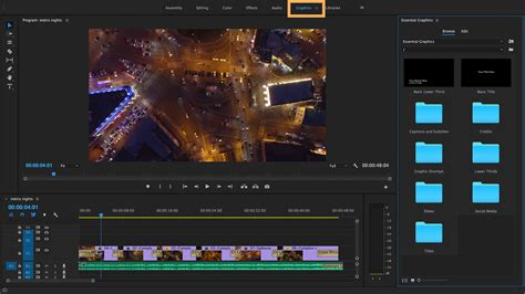 Create Titles And Graphics With The Essential Graphics Panel Adobe Premiere Pro Cc Tutorials Premiere Pro Motion Graphics Templates
