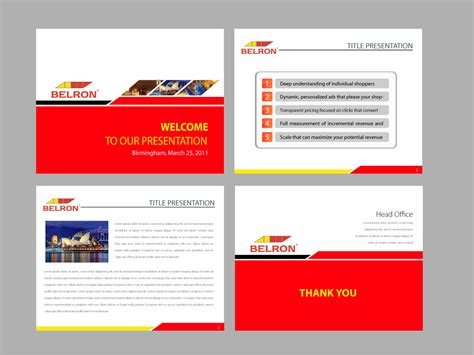 Corporate Presentation Template Design Sweatsweat Info Ppt Layout