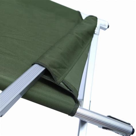 Hi Gear Folding C Bed C Bed 4 Leg C Bed New Mod Army Issue Folding C