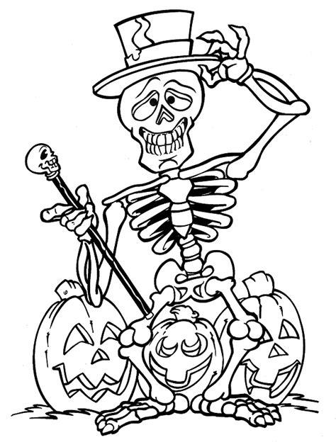 halloween coloring page printouts free coloring pages of kids halloween printable