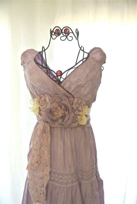 Shaby Dress maxi dress boho chic sundress shabby chic ruffle