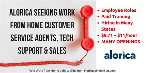 Alorica Background Check Alorica Seeking Work From Home Customer Service Agents Employee Roles Real Work