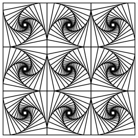 printable optical illusions illusion coloring pages printable coloring pages