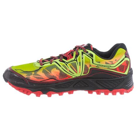 saucony waterproof trail running shoes saucony xodus 6 0 tex 174 trail running shoes for