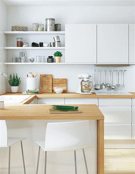 mensole cucina moderna cucine moderne piccole idea arredamento con mensole a