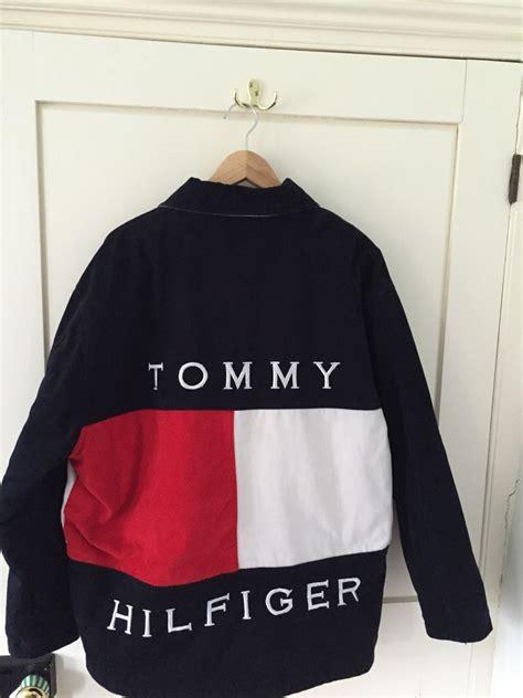 Sakura Duvet Tommy Hilfiger Vinatge Retro Quilted Jacket Large Tommy