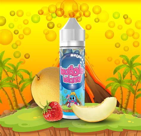 La Kokoa Eliquid 3mg 60ml island melon n straw 60ml e liquid