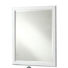 36 x 30 mirror for bathroom style selections 36 in h x 30 in w vanover white