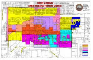City Of Zoning Map Ybor City Redevelopment Area City Of Ta