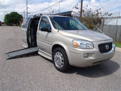manual cars for sale 2007 buick terraza transmission control purchase used 2007 buick terraza cxl braun entervan handicap wheelchair van in clearwater
