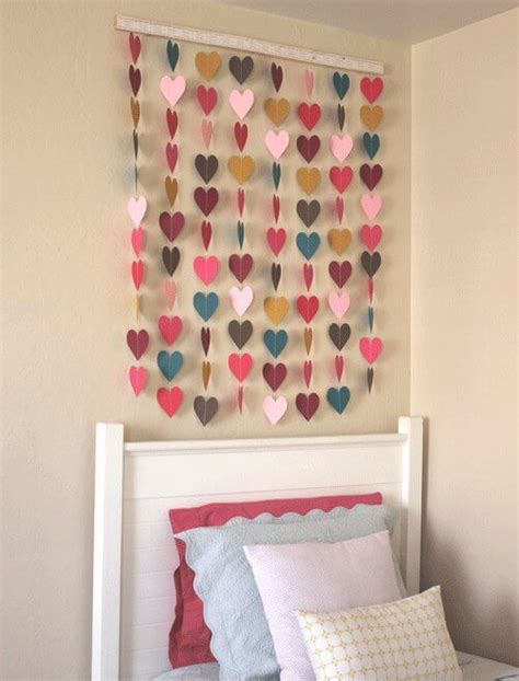 How To Make Paper Wall Decorations - diy 10 wall hanging ideas to decorate your home k4 craft