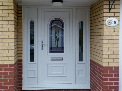 white front door pvc u front doors options glazing ltd