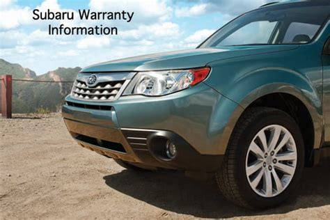 stanley subaru what is covered by a subaru warranty