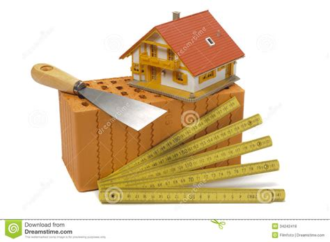 house builder tool tools for house construction royalty free stock photos image 34242418