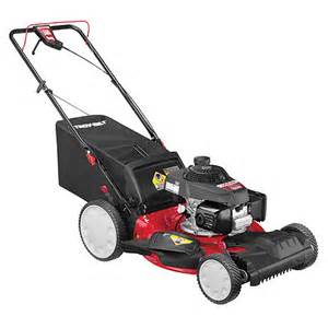 Troy Bilt Honda Tb240 Triaction High Wheel Self Propelled Lawn Mower From
