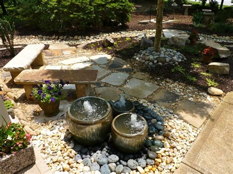 front yard water features front yard water feature by outdoor makeover traditional