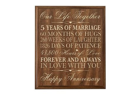 5th Wedding Anniversary Gifts by Unique 5th Wedding Anniversary Gift Ideas Cherry