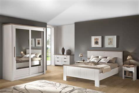 Incroyable Chambre Avec Meuble Blanc #2: Chambre-adulte-moderne-blanc-chene-romane.jpg