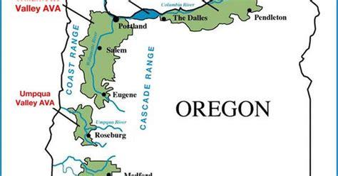 map for oregon 600 oregon wine regions map oregon wine willamette valley