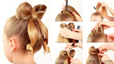 How To Do A Bow Hairstyle by How To Do A Bow Hairstyle Step By Hairstyles By Unixcode