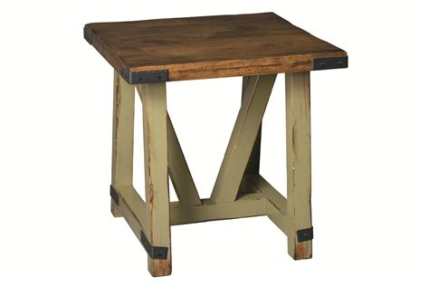 large accent tables amish olde farmstead large end table