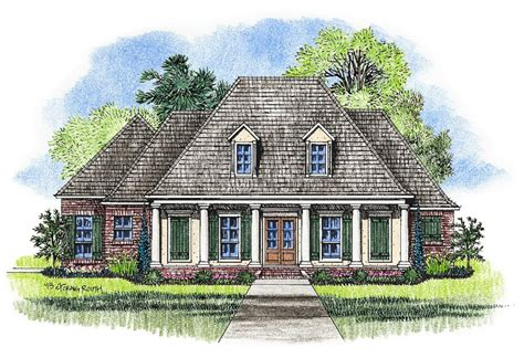 louisiana house plans acadian style homes