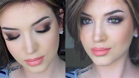youtube tutorial eyeshadow daytime glam matte makeup tutorial youtube