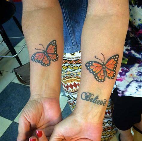 butterfly sister tattoos 40 tattoos tattooblend