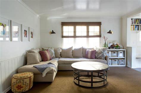 beadboard in living room carla lane interiors santa monica home desire to