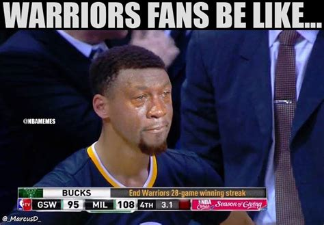 Warriors Memes - 5 funniest nba memes about the bucks ending the warriors