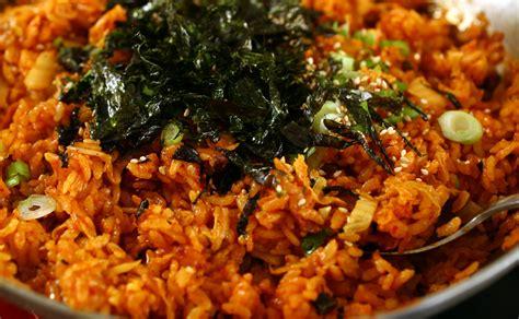 kimchi fried rice recipe dishmaps