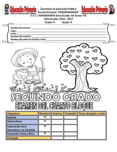 preguntas de cultura general argentina 2018 examen del segundo grado para el cuarto bloque del ciclo