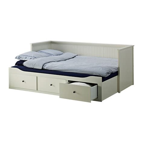 Hemnes Day Bed Frame With 3 Drawers White 80x200 Cm 163 195 Hemnes White Bed Frame