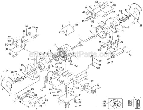 bench grinder wiring diagram dewalt dw756 parts list and diagram type 1