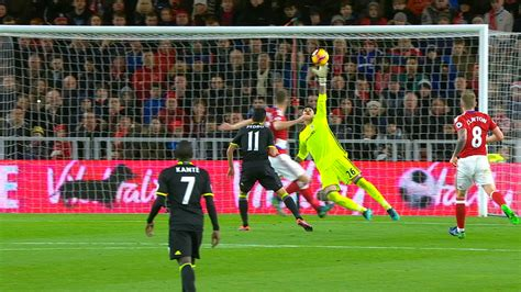 best football carragher s top five saves of 2016 in the premier