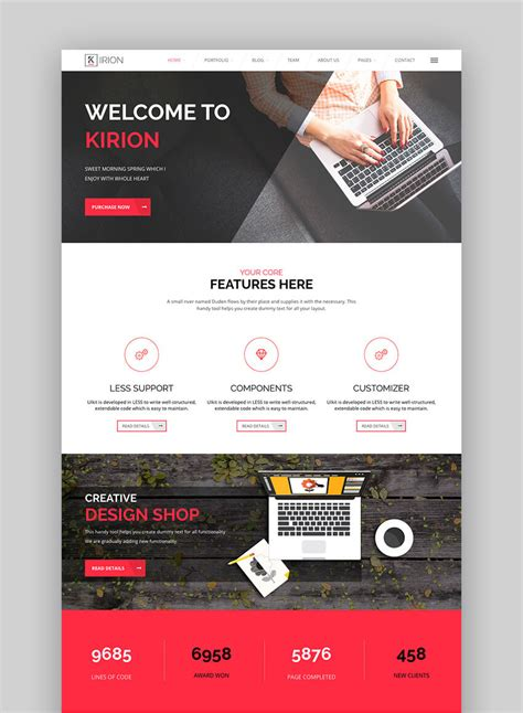 themes to design 20 best flat design modern wordpress themes for 2017