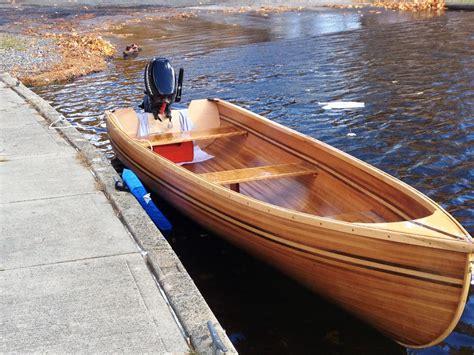 wooden boat etsy hand built cedar strip wooden boat by drewlil on etsy