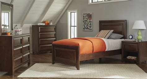 Maple Bedroom Furniture Sets Greenough Maple Oak Youth Panel Bedroom Set From Coaster Coleman Furniture