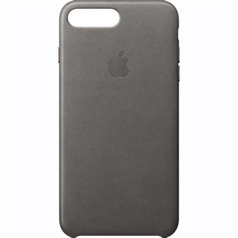 h iphone 7 plus apple iphone 7 plus leather gray mmye2zm a b h