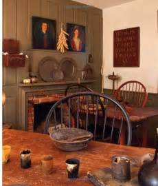 American Country Home Decor Colonial Tavern Room Country Primitive Spaces