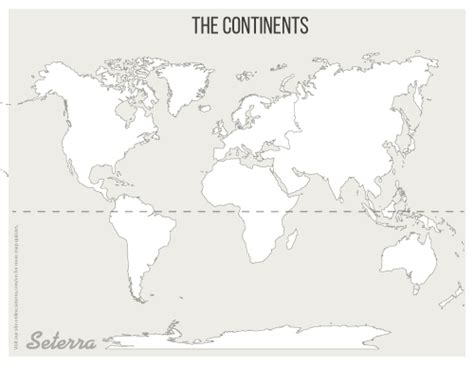 blank world map pdf world continents printables map quiz