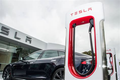 tesla model s supercharger tesla to open up supercharger network to other evs the