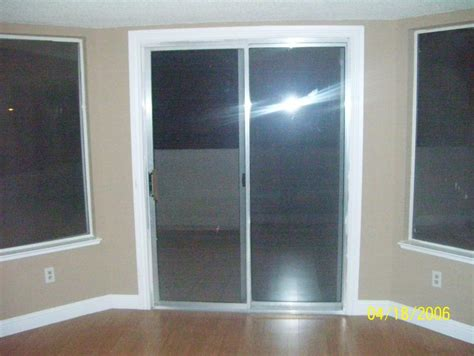 how to put in a sliding glass door world class sliding glass door trim put bright white trim
