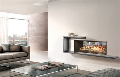 town country luxury fireplaces ws54 see thru indoor